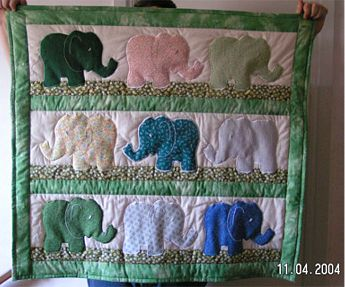 Elephant Baby Quilt Pattern Sewing Patterns For Baby